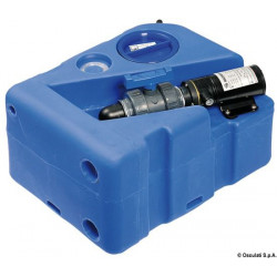 Horizontaler Abwassertank + Zerhacker 12 V