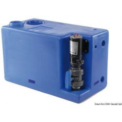 Abwassertank + Zerhacker 24V
